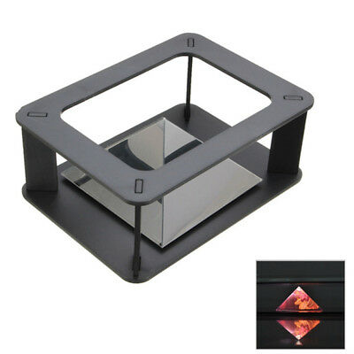 DIY Holographic 3D Display Cabint Projector Box for Samsung iPhone HTC Smartpho