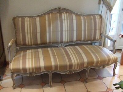 canap ancien style louis xv 4 places - Canape Ancien