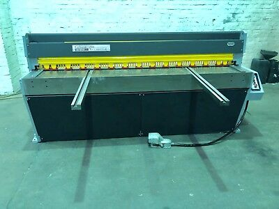 Edwards Truecut DD 2m Sheet Metal Guillotine