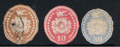 Switzerland 1914 - 30 Pre Stamped Envelope Cut - Outs