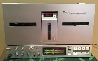 Akai GX 77 Reel to Reel Working * WITH SERVICED REQUIRED PLEASE READ*