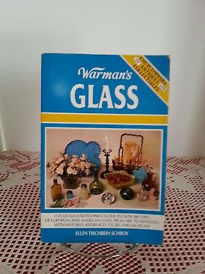 1992 Warman's Glass Encyclopedia of Antiques & Collectibles Guide