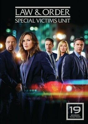 Law & Order Svu Special Victims Unit Season 19 Brand New Sealed R1 Dvd (Mod)