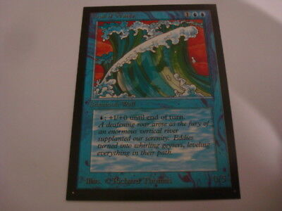 MTG Beta Wall of Water Collector´s Edition Beta CE Magic