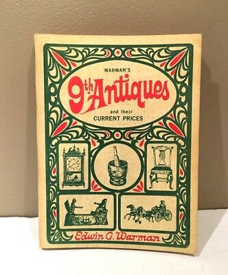 Vintage 1968 Warman's 9th ANTIQUES And Their Current Prices ~ GOOD CONDITION!!