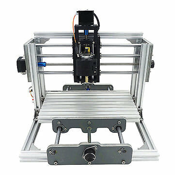 2417 3 Axis Mini DIY CNC Router Wood Craving Engraving Cutting Milling Desktop E