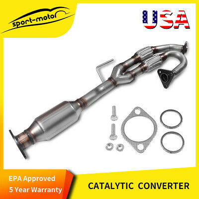 For 2003-2007 NISSAN Murano 3.5L Front Exhaust Flex Y Pipe Catalytic Converter