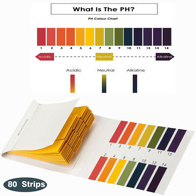 Acid pH Testing Litmus Saliva Garden Soil Test Pond  Water Paper Household Kit