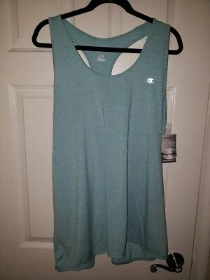 c1a51976a79 NWT NEVER BEEN Worn Champion Women s Plus Absolute Stretch Tank Size ...