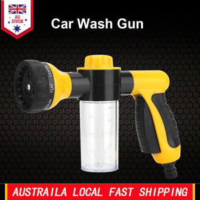 Portable High Pressure Spray Car Wash Snow Foam Water Gun Cleaning Pipe Washer A