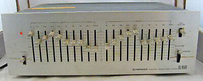 Pioneer SG-9500 Vintage Stereo Equalizer 10 Band Made in Japan