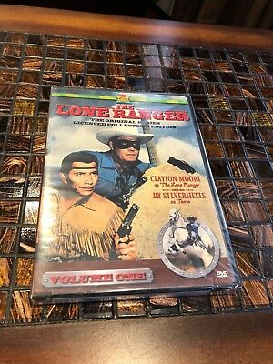 The Lone Ranger Volume 1 (RHINO DVD) NEW Rare OOP Clayton Moore Jay Silverheels