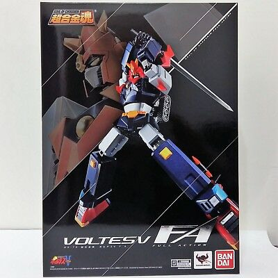 BANDAI Soul of Chogokin GX-79 VOLTES V FA FULL ACTION New