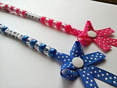 Personalised Dummy Clip, Also Bow Dummy Clips