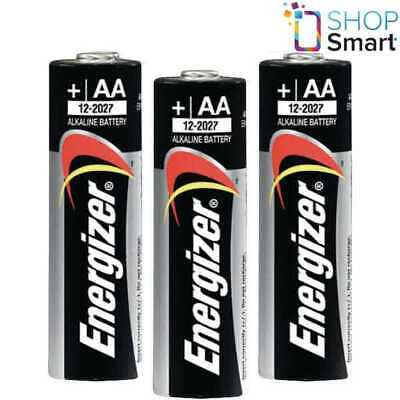 3 Energizer Aa Alkaline Power Lr6 Batteries 1.5V Mignon Mn1500 Am3 E91 New