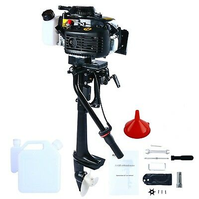 Outboard Motor 4 Stroke 4HP 2.8kw Inflatable Fishing Boat Engine CDI System