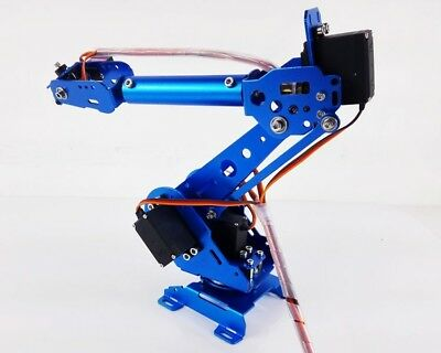 6 Axis Robot Arm ABB Industrial Mechanical Robot Arm Free Manipulator + Servos