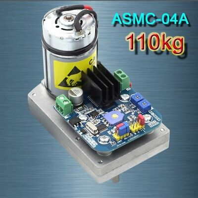 High Torque RC Servo DC12-24V 110kg.cm Steel Gear for Robot Arm ASMC-04A