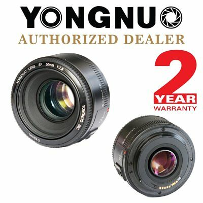 YONGNUO YN 50mm F 1.8 Large Aperture Lens Auto Focus AF MF For Canon DSLR UK