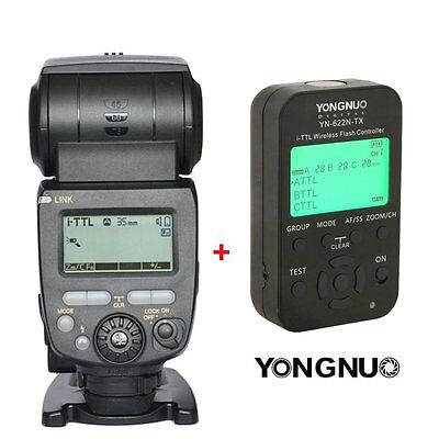 Yongnuo YN685 Wireless TTL Flash Speedlite + YN622N TX Transmitter for Nikon UK