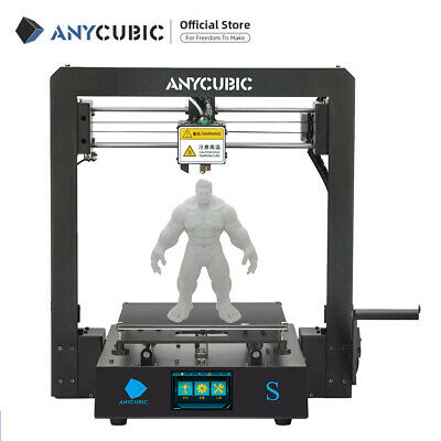 "ANYCUBIC 4MAX Pro 3D Printer Ultrabase 3.5"" TFT Large Print Size with 1.75mm PLA"