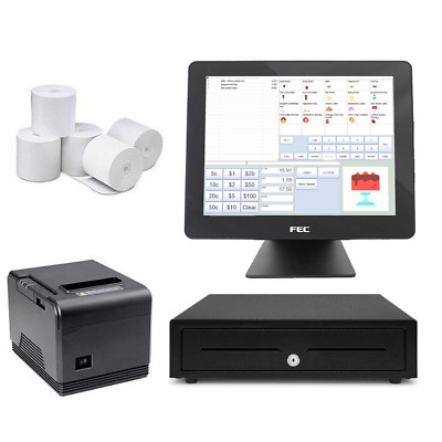NeoPOS Retail and Hospitality Manager with the FEC PP1635 Touch POS Terminal ...