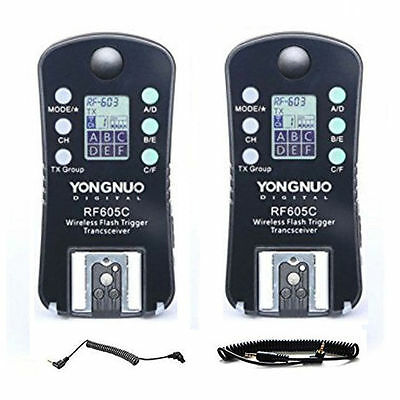 Yongnuo RF605C Wireless Flash Trigger for Canon Camera UK