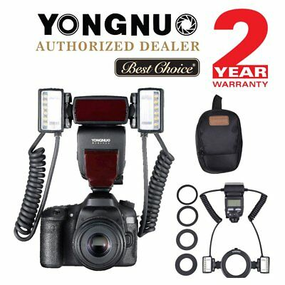 Yongnuo YN24EX TTL Macro Master Speedlite With Adapter Ring For Canon UK