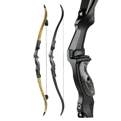 Archery Recurve Bow ILF Hunting Takedown 60'' Right Left Hand Longbow Package