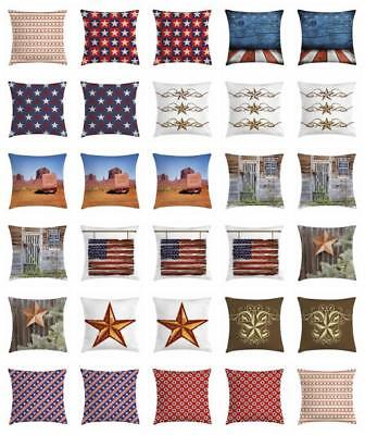 Primitive Country Throw Pillow Cases Cushion Covers Home Decor 8 Sizes Ambesonne