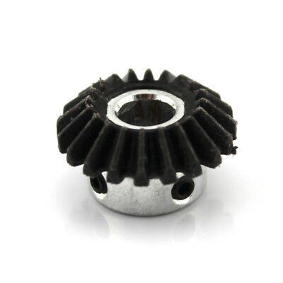 2pcs 8mm 1:1 Bevel Steel Drive Gear 1 Modulus 20 Teeth 90 Degree Screw Hole M4