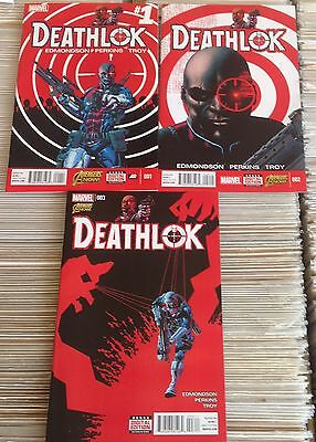 Deathlok #1-6.  Marvel Comics 2014/15.  All In Excellent Condition