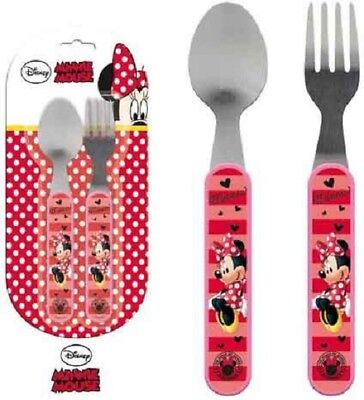 Kinder Besteck- Set Minnie, Mädchen, Disney