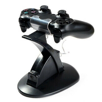 Dual Controller Charger LED USB Station Charging Dock Stand Sony PS4 PlayStation