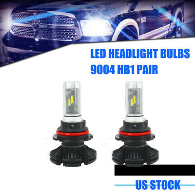 2x9004/HB1 LED Headlight Bulbs Conversion Kit -Philips ZES Chips With Hi/Lo Beam