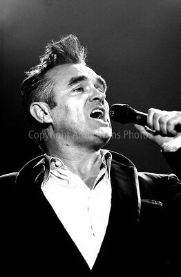 Morrissey live at Reading Rock Festival 2004 photograph picture poster art print