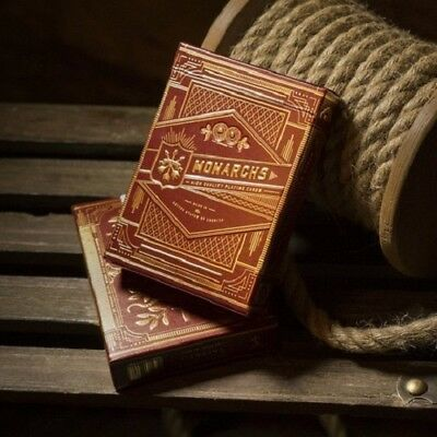 Monarchs V2 Playing Cards (RED) Limited Edition Monarch Deck by Theory11