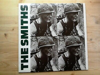 The Smiths Meat Is Murder 1st Press A1/B1 Very Good Vinyl LP Record ROUGH 81