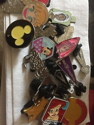 Disney Trading Pins Lot Of 25 -100% Tradable - No Duplicates