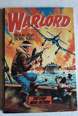 NM Warlord Book for Boys 1982 *SEE PICS*