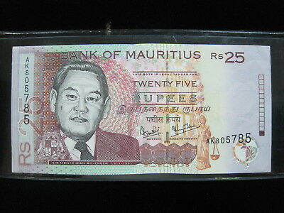 Mauritius 25 Rupees 1999 68# Bank Currency Money Banknote