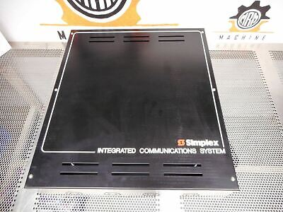 Simplex Integrated Communications System Enclosure Box New Old Stock