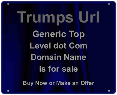 Trump - Card - Betting - Domain Name For Sale - Trumps Url - gTLD Investment