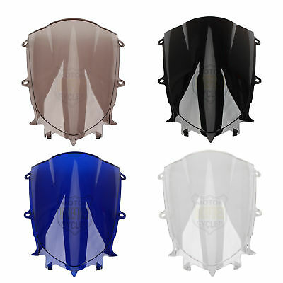 Motorcycle PC Double Bubble Windshield Windscreen For Yamaha YZF 600R  R6 17 18