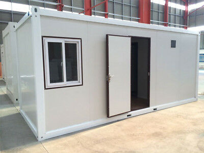 19' Pre Fab Office -Site Office-Container Size-Electrics-Wiring-Door-Window NEW!