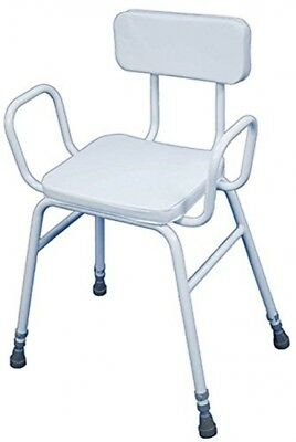 Malling Perching Stool with Arms and Padded Back-87691