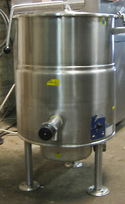 25 Gallon Cleveland Steam Jacketed Stainless Steel Soup Sauce Kettle Pot 480Volt