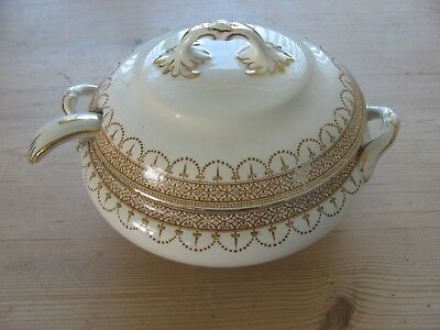 Keeling & Co Ltd Losol Ware Claremont Small Tureen With Lid and Ladle
