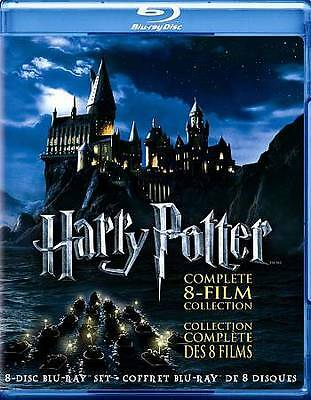 Harry Potter Complete 8-Film Collection (8-Disc Set BLU-RAY, 2011) NEW!