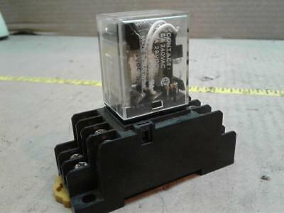 Omron MY4N-DC24  Power Relay 5Amp 24Vdc 14Pin With Pyf14A Relay Socket